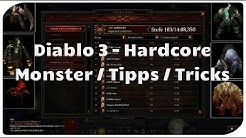 Diablo 3 - Hardcore: Monster & Überlebenstipps
