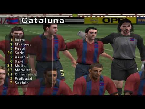 Pro Evolution Soccer 3 - 2003 - FC Barcelona VS Real Madrid C.F. (PC)