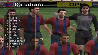 Pro Evolution Soccer 3 - 2003 - FC Barcelona VS Real Madrid C.F. (PC)