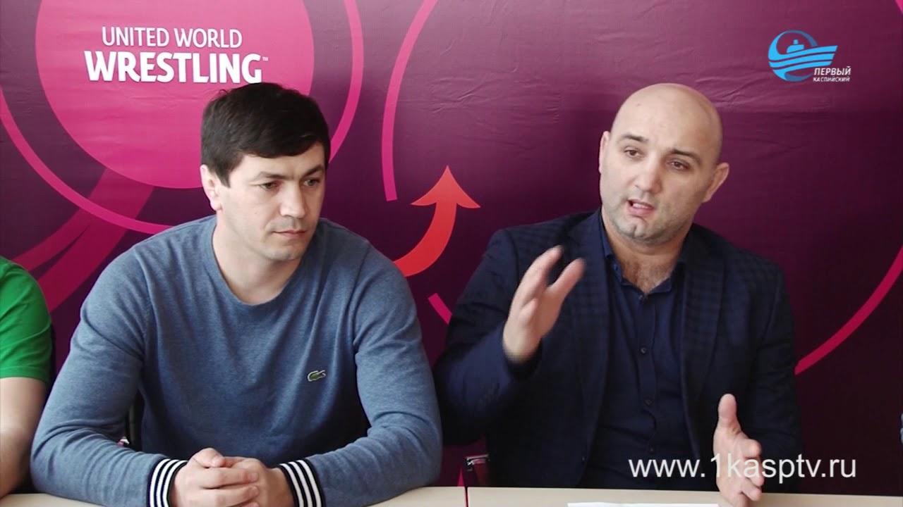 Греко-римская борьба и ее развитие в регионе обсудили на пресс-конференции  во Дворце спорта и молодежи им. А.Алиева