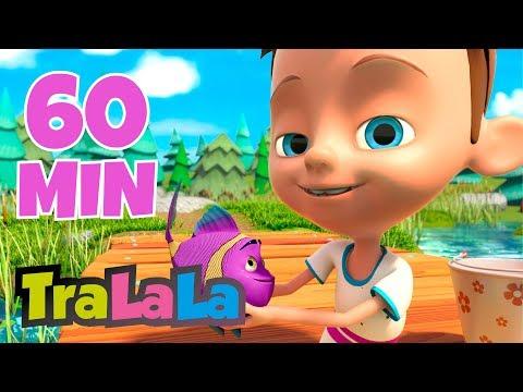 Peștișorul năzdrăvan 60 MIN - Cântece pentru copii | TraLaLa