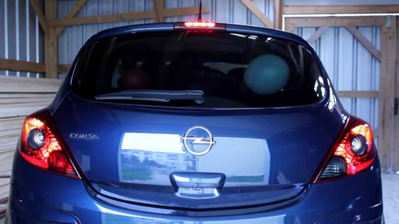corsa d tail light full led conversion youtube corsa d rear light wiring diagram [ 1280 x 720 Pixel ]