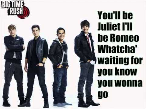 Love Me Love Me - Big Time Rush Lyrics
