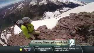 Tomer's Trails - A Training Climb Up Pyramid Peak - Chris tags along with Alan Arnette as he trains to climb K2, the deadliest mountain, located in Pakistan. He prepares for the trek with a climb up Pyramid Peak in Pitkin County.