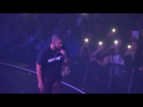 Drake - For Free & My Way RMX - live Manchester 2017