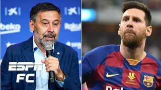 Espn fc's mark ogden, julien laurens and alejandro moreno react to lionel messi telling barcelona he wants leave the club. believes has been...