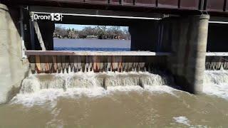 Drone 13: Sacramento Weir And River