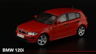 Первая Первая серия BMW 120i E87 • AUTOart • Масштабные модели автомобилей БМВ 1:43...