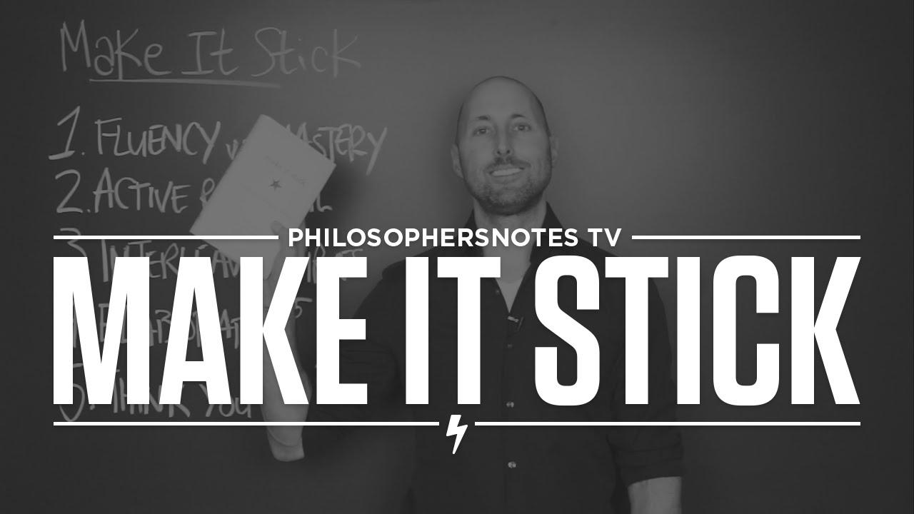 PNTV: Make It Stick by Peter Brown, Henry Roediger & Mark McDaniel