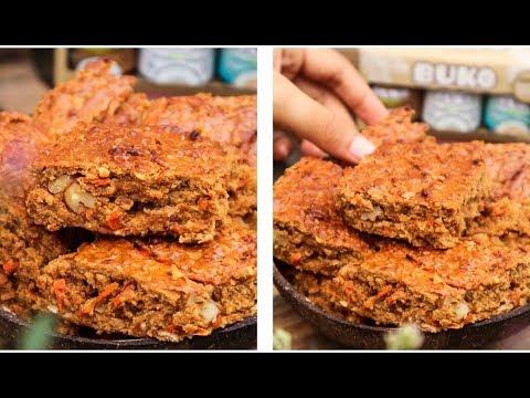 Carrot Cake Bars | Easy Vegan Recipe 🥕😋