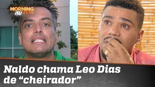 """Naldo chama Leo Dias de """"cheirador de cocaína"""""""