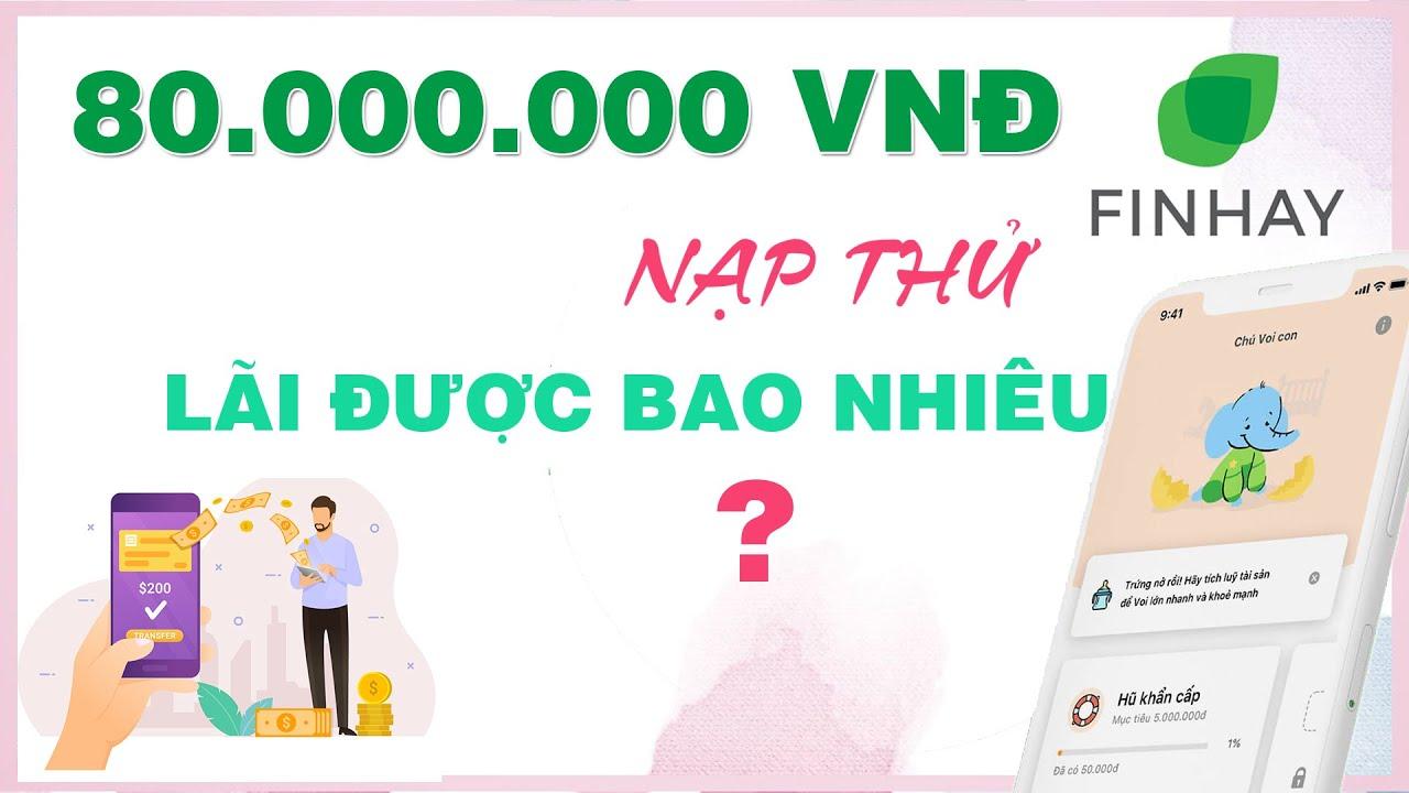 Đầu Tư 80 Triệu Vào FINHAY Lãi Bao Nhiêu & 4 Cách Kiếm Tiền Online