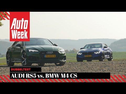 Audi RS5 vs BMW M4 CS - AutoWeek Dubbeltest