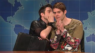 John Mulaney Messing With Bill Hader (Stefon)