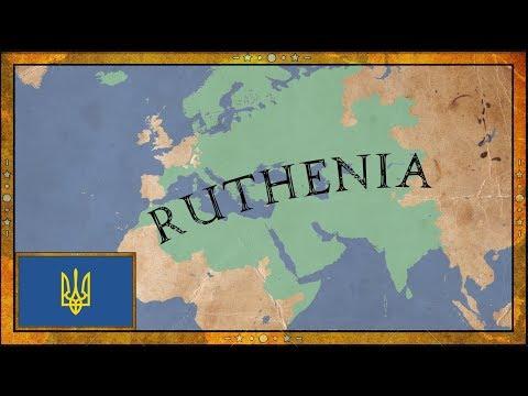 EU4 - RUTHENIAN LEGACY - Ruthenia - Timelapse