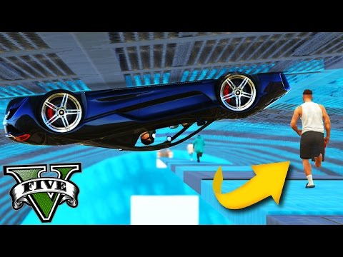 GTA V Online: PARKOUR vs LOOPINGS - A 2 RODA da MORTE!!!
