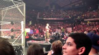 John Cena Speech on CM Punk- Post WWE RAW Chicago 12/26/11