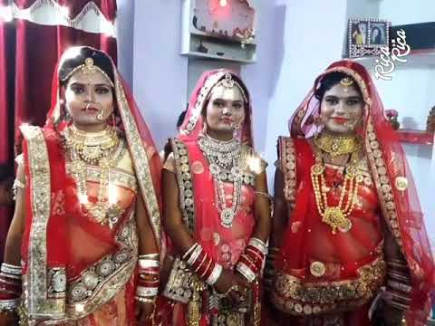 Three beautiful Bride's from precious beauty parlour ajmer