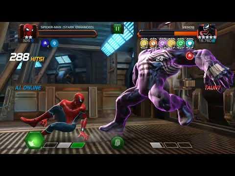 2* Stark Spiderman vs 436 Venom