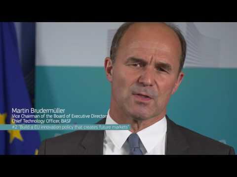 Build a true EU innovation policy that creates future markets