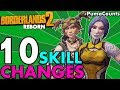 Top 10 Best Skill and Class Changes from the Borderlands 2 Reborn Mod Gaige and Maya #PumaCounts