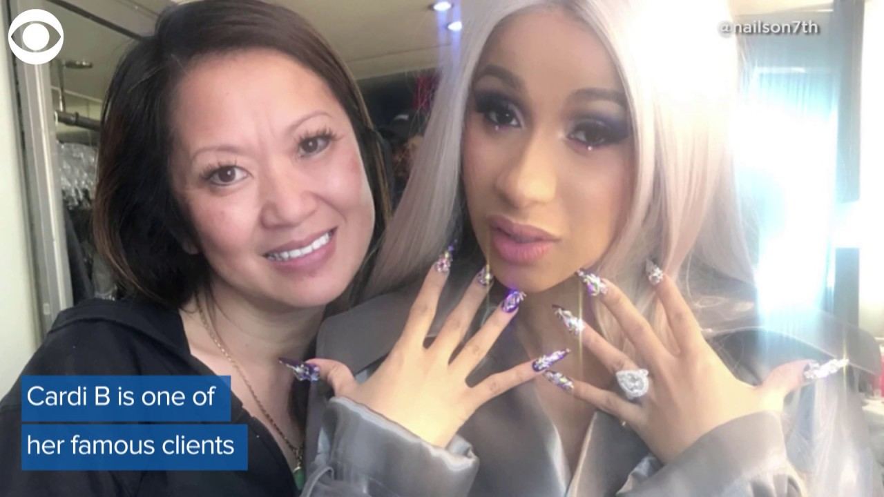 "Cardi B S Nail Artist: Meet Jenny Bui, Cardi B's Nail Artist And The ""Queen Of"
