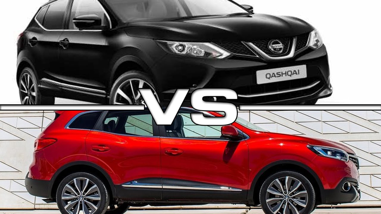 nouveau renault kadjar 2015 vs nissan qashqai. Black Bedroom Furniture Sets. Home Design Ideas