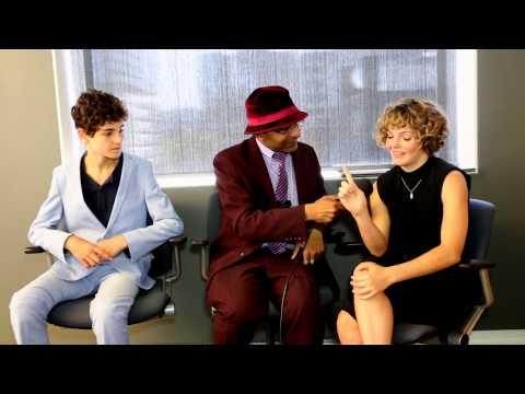 Gotham - Interview With David Mazouz & Camren Bicondova At CTV Upfront 2015