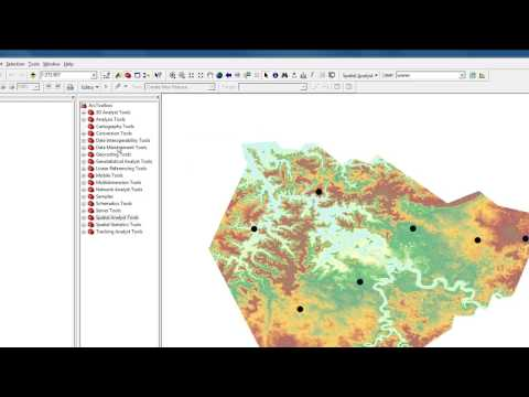 Extract Raster Values to Shapefile in ArcMap