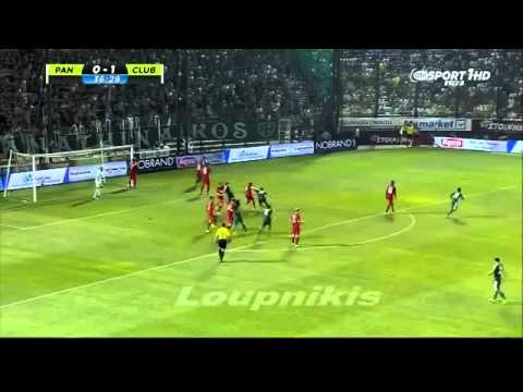 Panathinaikos 2-1 Club Brugge All Goals and Highlights Champions League