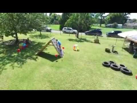 ninja line  kids ninjaline backyard challange obstacle