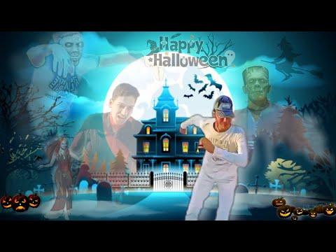 Happy Halloween 🎃 Parkour Chase | Dracula | Zombie | Frankenstein.