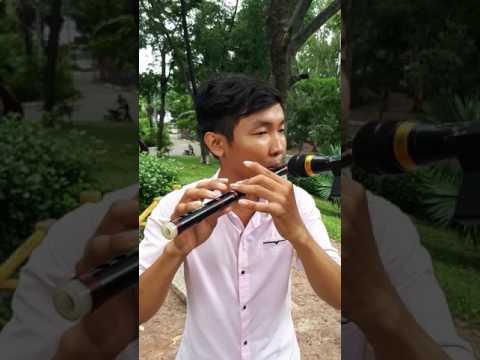 Sáo mã can(套马杆) - sáo Dizi cao cấp gỗ mun Tone F ( Đô )