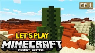 lets play minecraft pocket edition 0160 the adventure begins episode 1 pocket edition