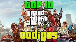 TOP 10 códigos/cheats de GTA 5 (PS3/XBOX 360)