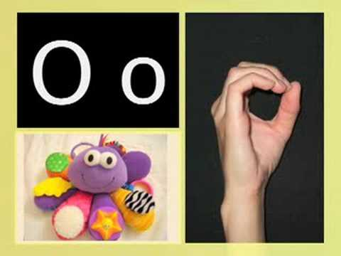 ASL alphabet/ABC song - Canadian version