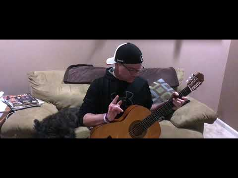 Yngwie Malmsteen Black Star intro - classical guitar music - Steve Rotter