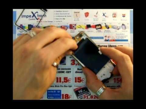IMPEXTROM - COMO CAMBIAR / TROCAR DISPLAY PANTALLA LCD NOKIA 6210 NAVIGATOR