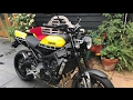 2016 YAMAHA XSR900, UPDATE ON PARTS FITTED, Norton, Bike show, my new bike etc
