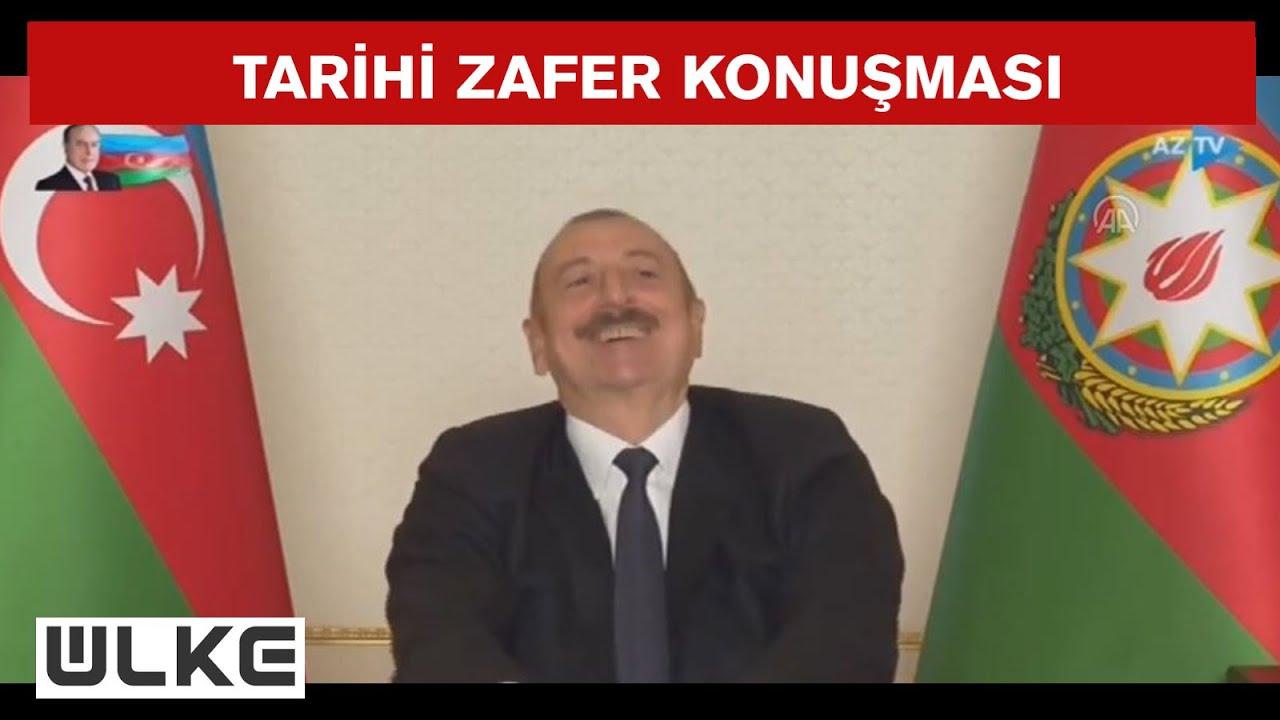 Cumhurbaşkanı Erdoğan, Haydar Aliyev'in Kabrini Ziyaret Etti