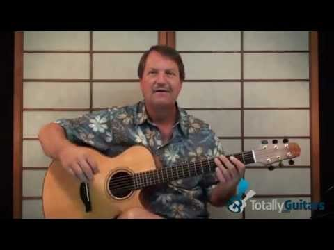 Leather And Lace Guitar Lesson Preview - Stevie Nicks - YouTube