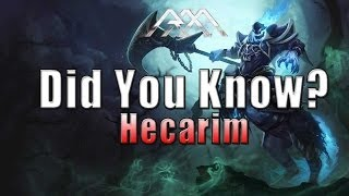 Hecarim - Did You Know? EP 45 - League of Legends