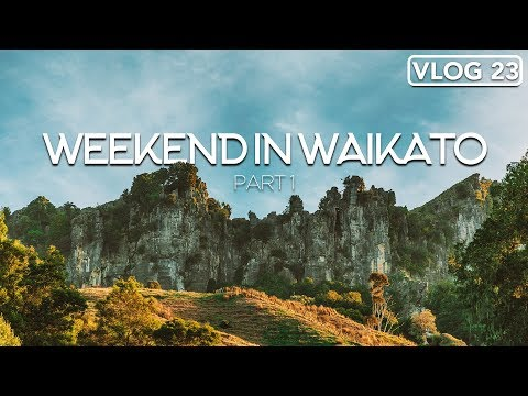WEEKEND IN WAIKATO. DAY 1 /// NEW ZEALAND TRAVEL /// VLOG #23