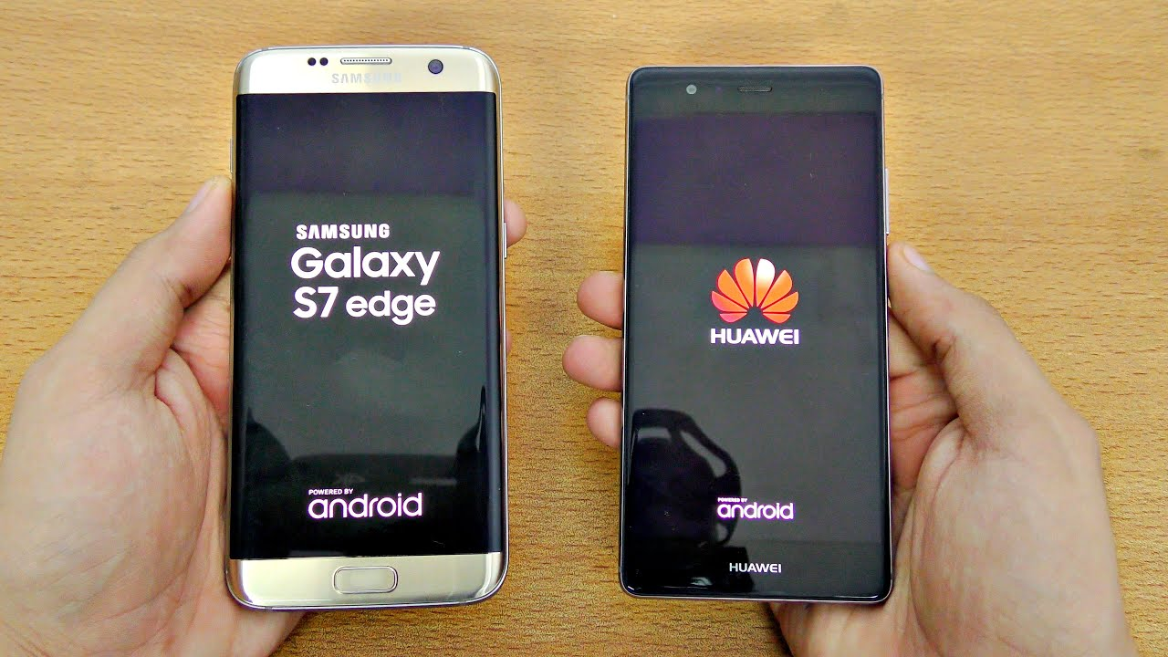 huawei p  samsung galaxy  edge speed test  videophimcom
