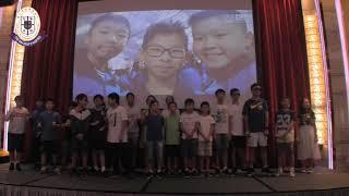 wyjjmps的2018-2019年度 六年級B班畢業聚餐表演相片