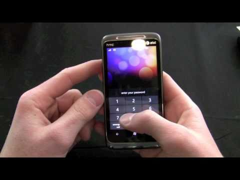 HTC Surround Unboxing and Demo: Windows Phone 7 Launch