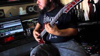 At The Gates - Blinded By Fear cover (Axe FX II - Diezel VH-4)