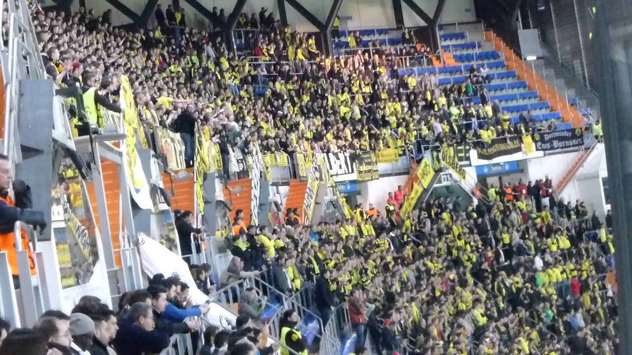 BVB Fans im Bernabéu: Real Madrid - Borussia Dortmund (13/14)