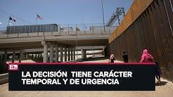 Juez bloquea plan de Trump para construir muro fronterizo