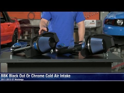Mustang BBK Cold Air Intake and Black Out Cold Air Intake (11-14 GT) Review